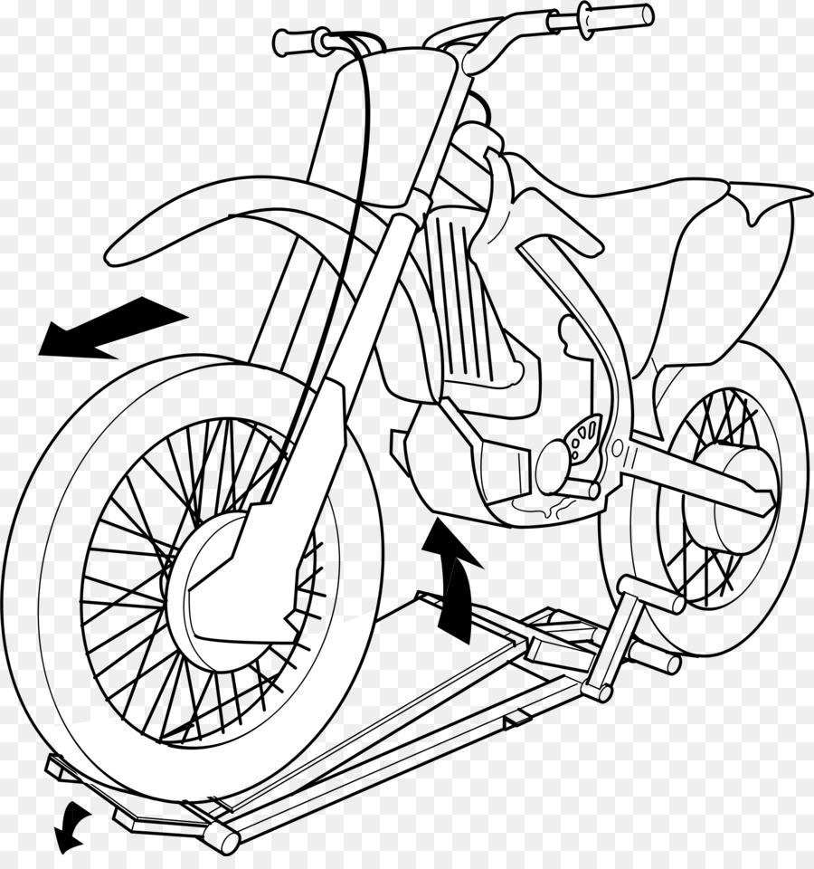 Motocicleta ascensor Dibujo Clip art - Dirtbike Formatos De Archivo ...