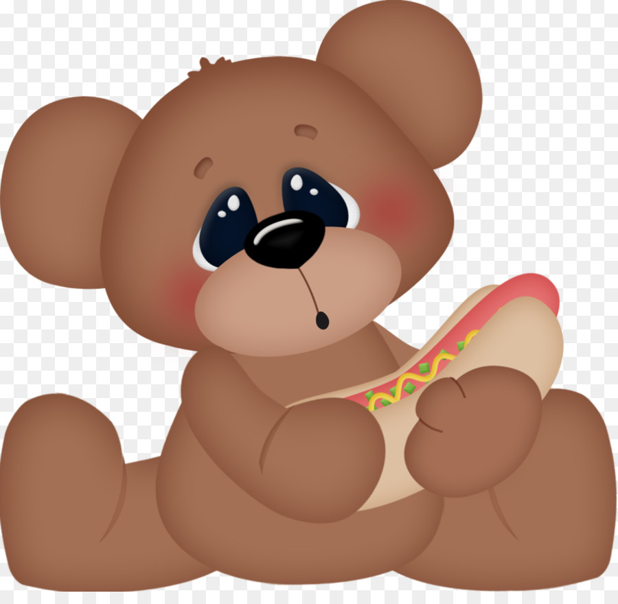 Teddy Bears Picnic Clip Art Fuzzy Png Download 1024981 Free