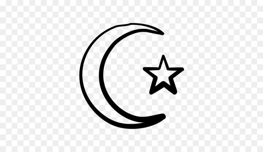 Star And Crescent Moon Clip Art Moon Crescent Png Download 512