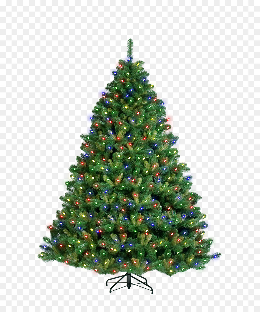 artificial christmas tree pre lit tree colored christmas tree light effect - Pre Lit And Decorated Christmas Trees