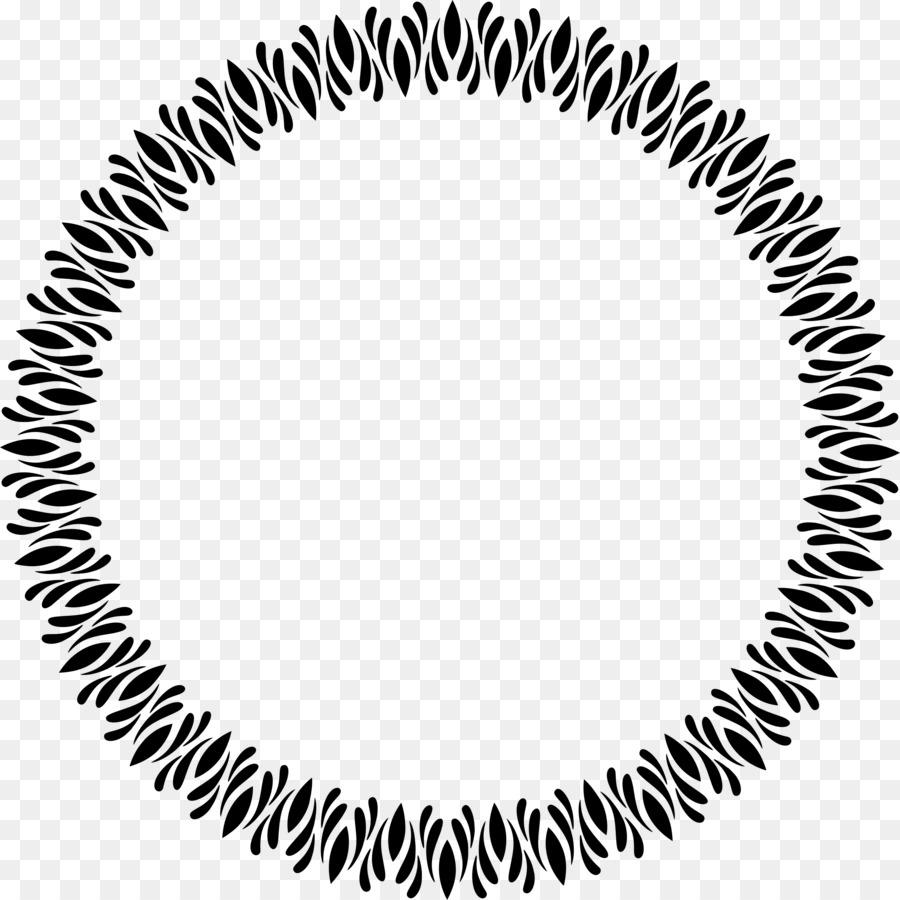 Marcos de imagen de Espejo Clip art - continental borde circular de ...