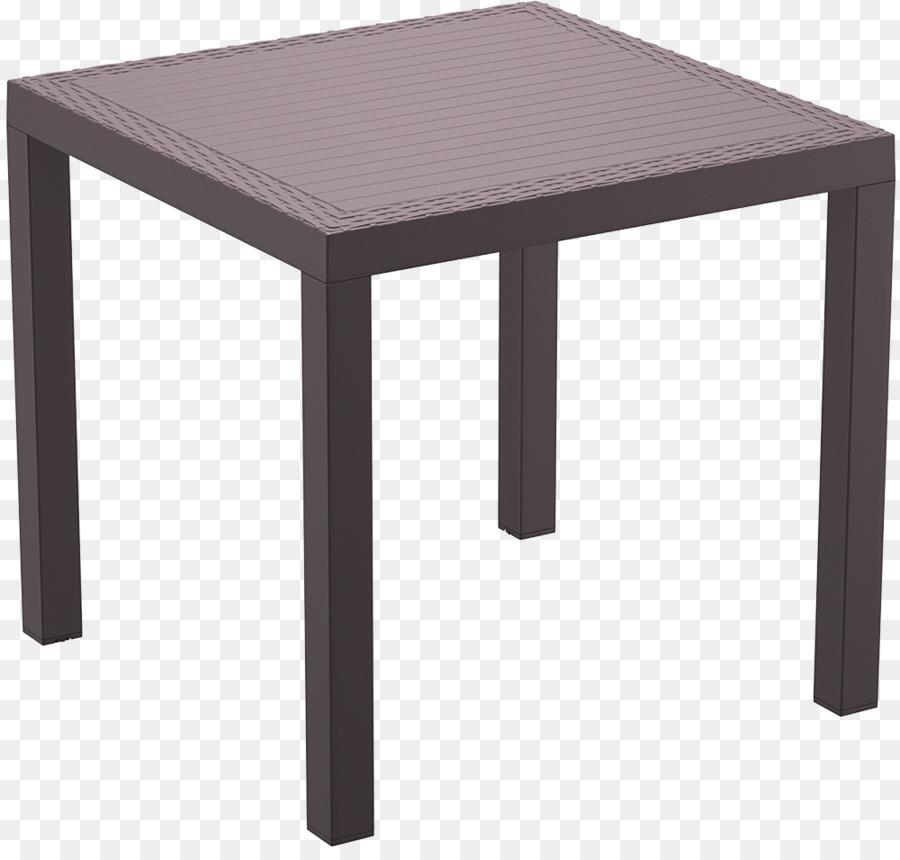 Mesa de Jardín, muebles de mimbre de la Resina - cuatro mesa de la ...