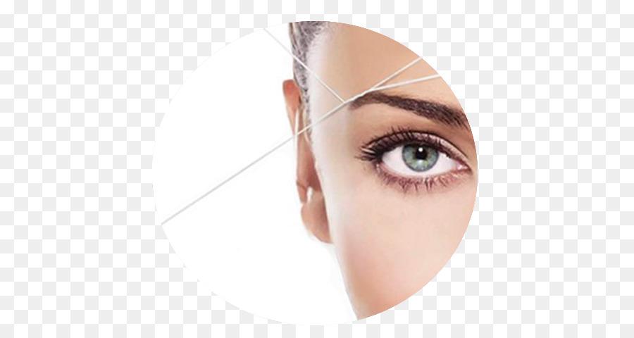 Threading Eyebrow Beauty Parlour Waxing Permanent Makeup Hair Png
