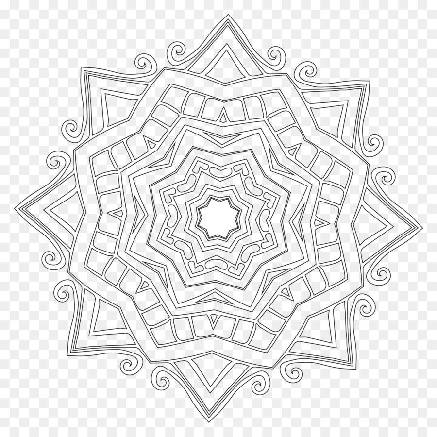 Mandala libro para Colorear, Dibujo de - una variedad de patrones ...