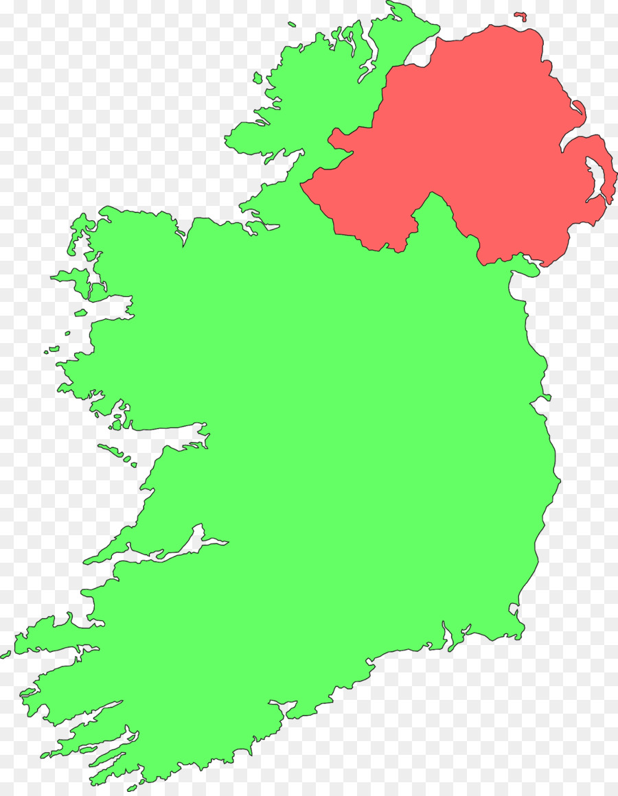 Republic of Ireland World map Clip art - northern europe png ...
