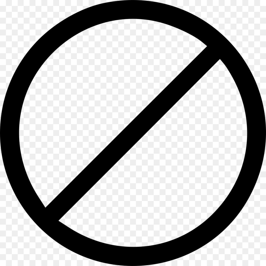 No Symbol Circle Clip Art Prohibited Passage Png 980980