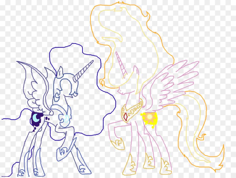 Pony Princesa Luna llamarada Solar de Dibujo - llamarada solar png ...