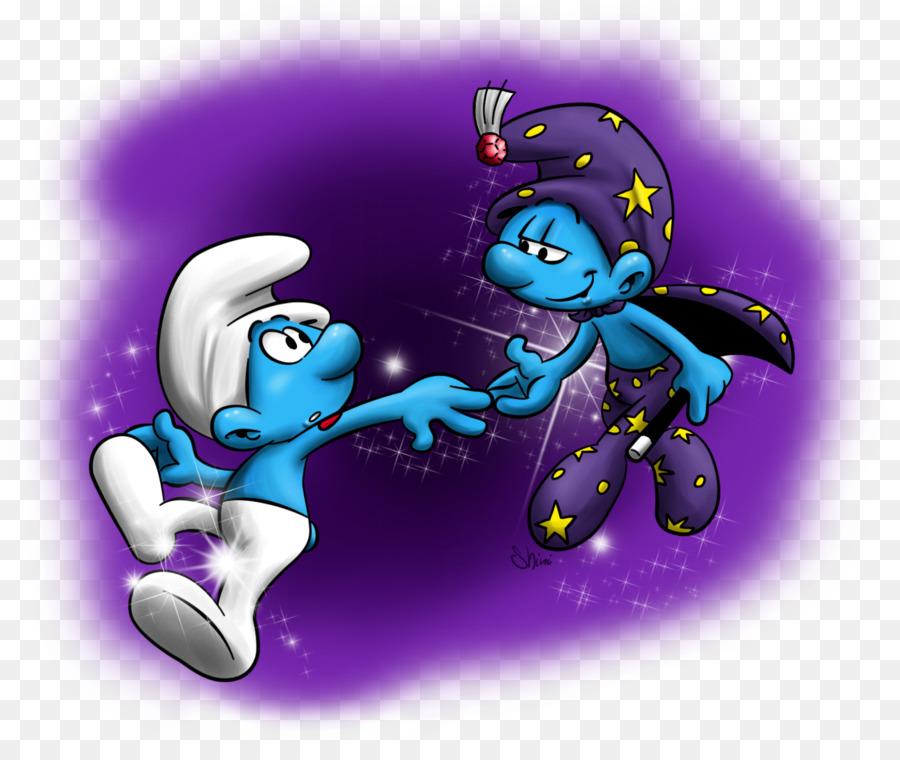 Alchemist Smurf Smurfette Hefty Smurf Brainy Smurf The Smurfs ...