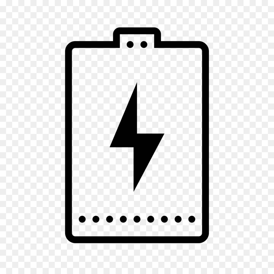 battery charger laptop computer icons
