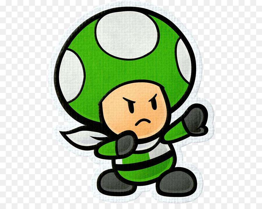 Toad Paper Mario Color Splash Sticker Star New Super Bros