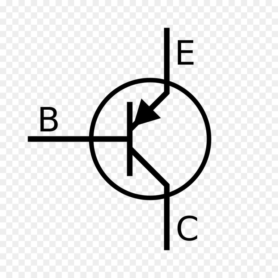 Bipolar junction transistor Electronic symbol PNP tranzistor NPN - together  vector