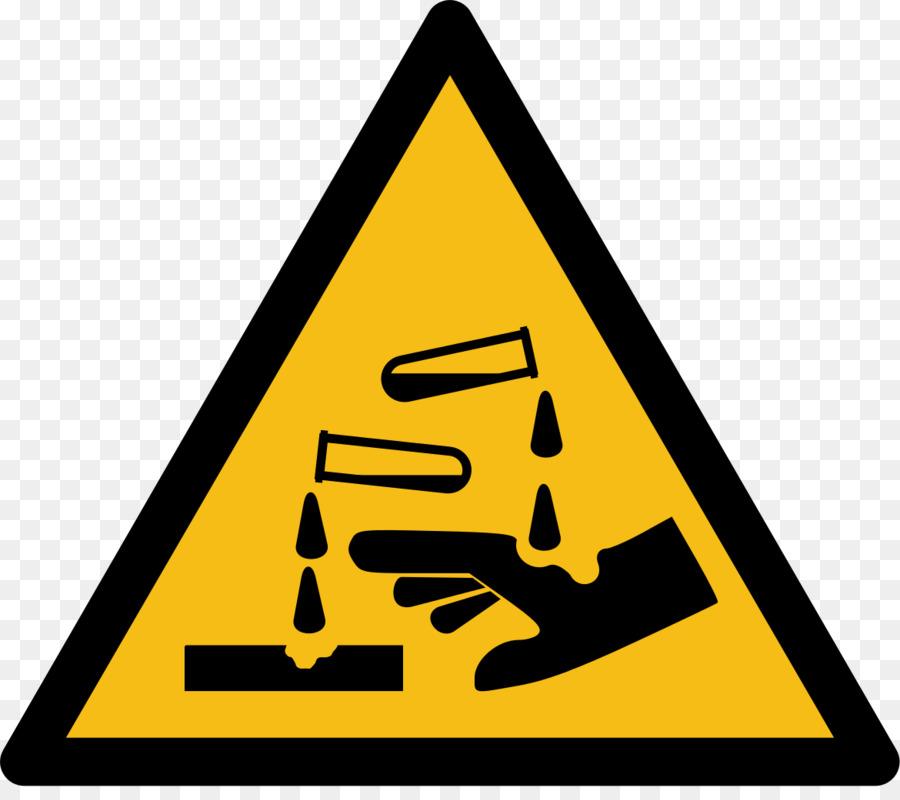 Corrosive Substance Hazard Symbol Hydrochloric Acid Hazardous