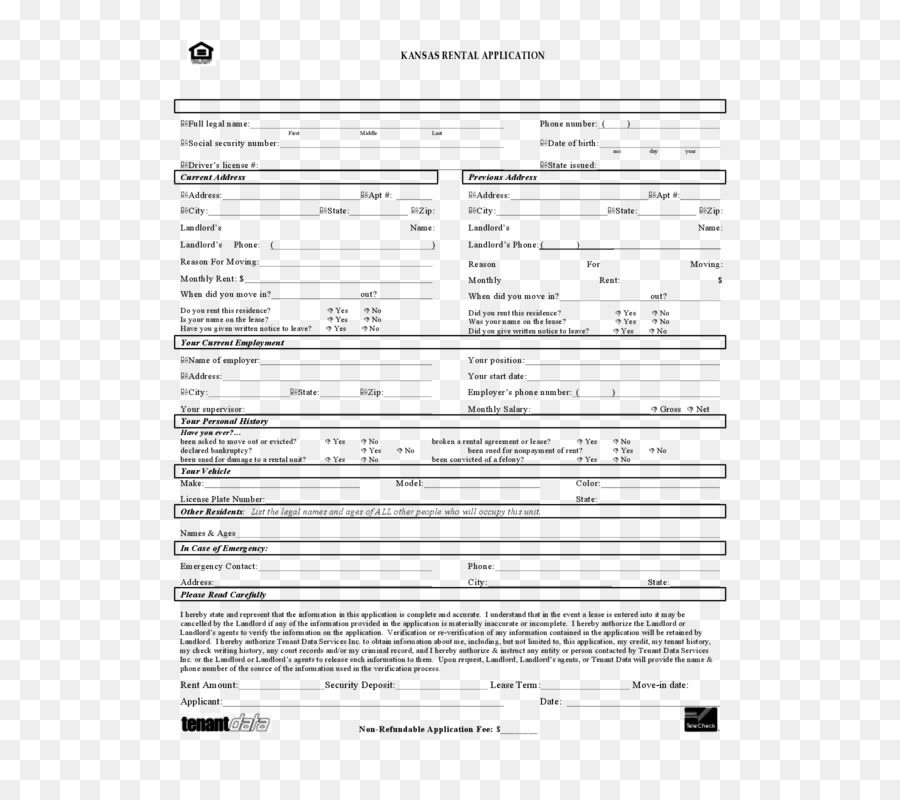 Rental Agreement Lease Contract Renting House Seek Png Download