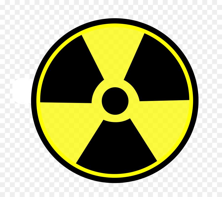 Nuclear Power Radioactive Decay Radioactive Waste Hazard Symbol