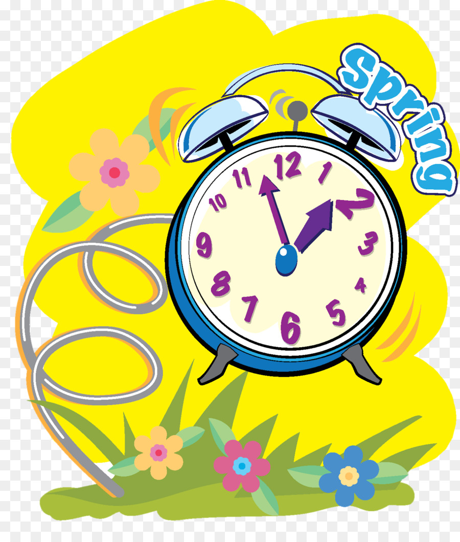 Daylight saving time in the United States Clock Clip art - spring ...