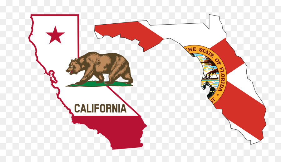 Flag Of California Republic Grizzly Bear Clip Art