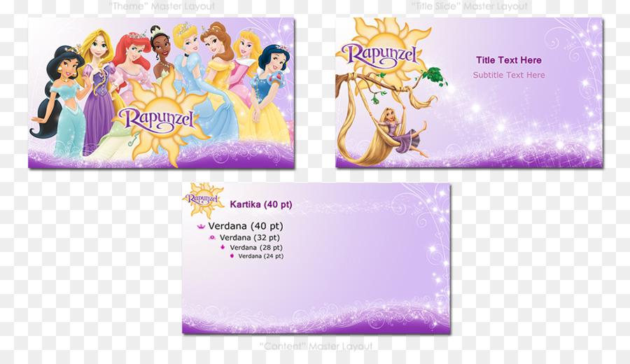 Rapunzel Template Microsoft Powerpoint The Walt Disney Company