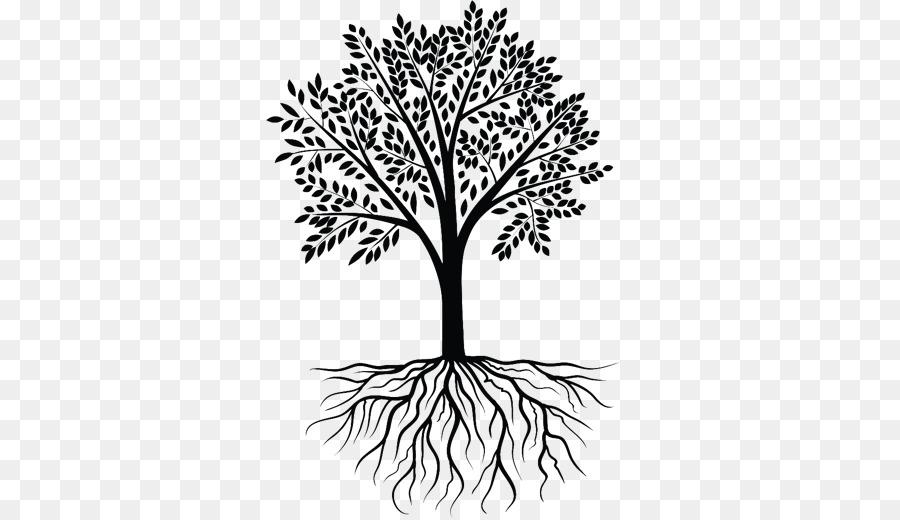 Tree Clip art - roots clipart png download - 520*520 ...