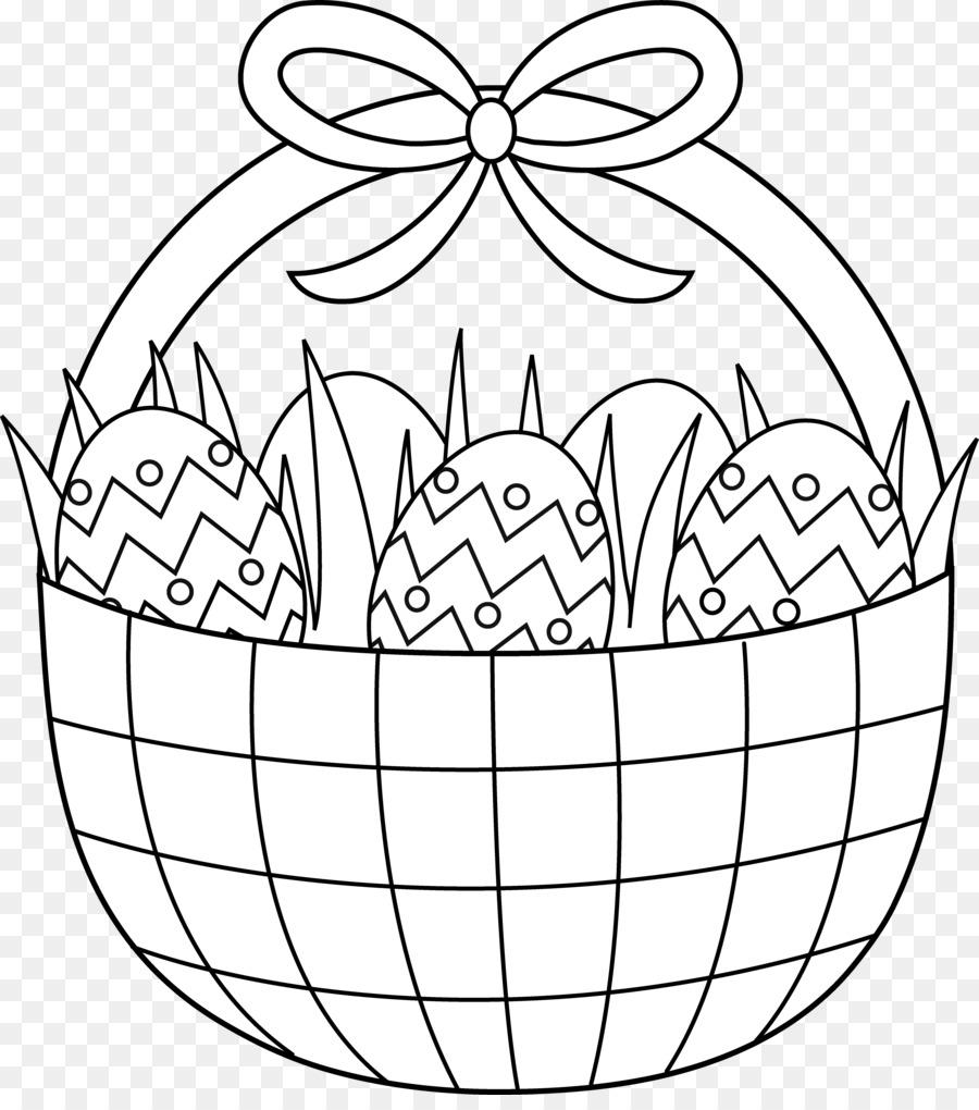 Easter Bunny Easter Basket Coloring Book Easter Egg Easter Png