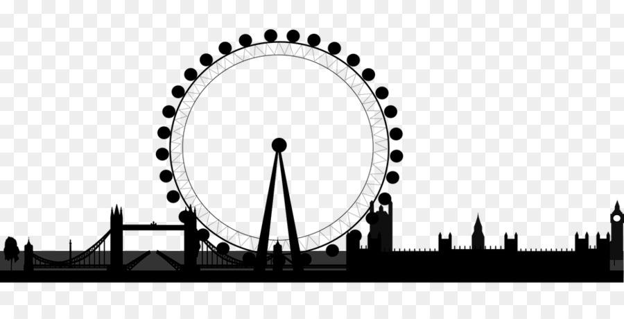 London Eye Clip Art