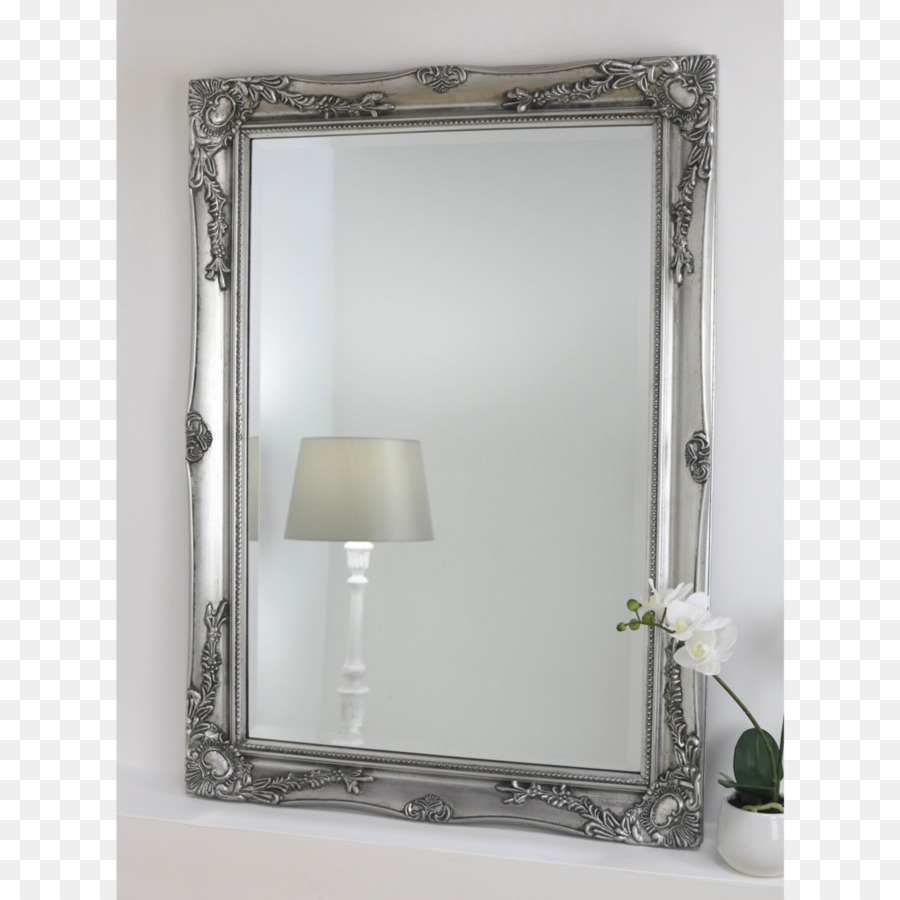 Shabby chic Mirror Picture Frames Glass Silvering - classical corner ...