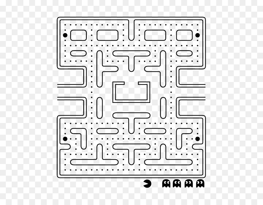 Fabulous Pac Man Maze Coloring Pages With Pac Man Coloring Pages: Pac-Man Party Ms. Pac-Man Maze Madness Video Game