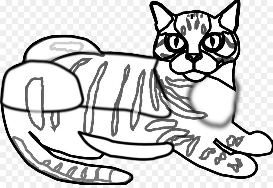 Gatito Bigotes de Gato de libro para Colorear de Perros - tabby png ...