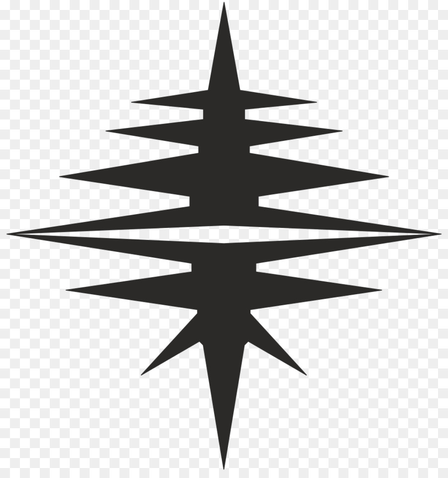 Christmas tree Line Symmetry Symbol Pattern - india chapter vector ...