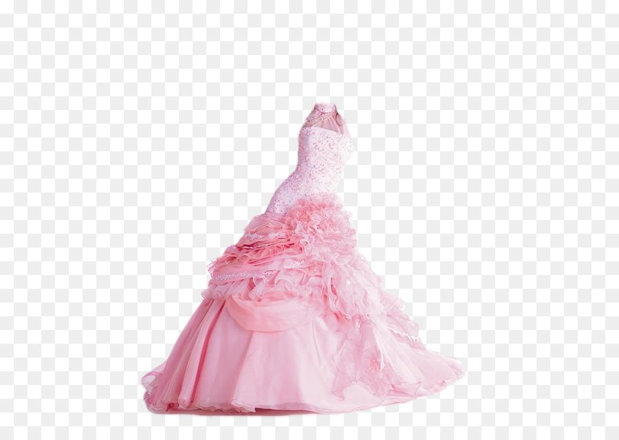 Vestido de novia vestido de Bola vestido de Cóctel - rosa vestido de ...