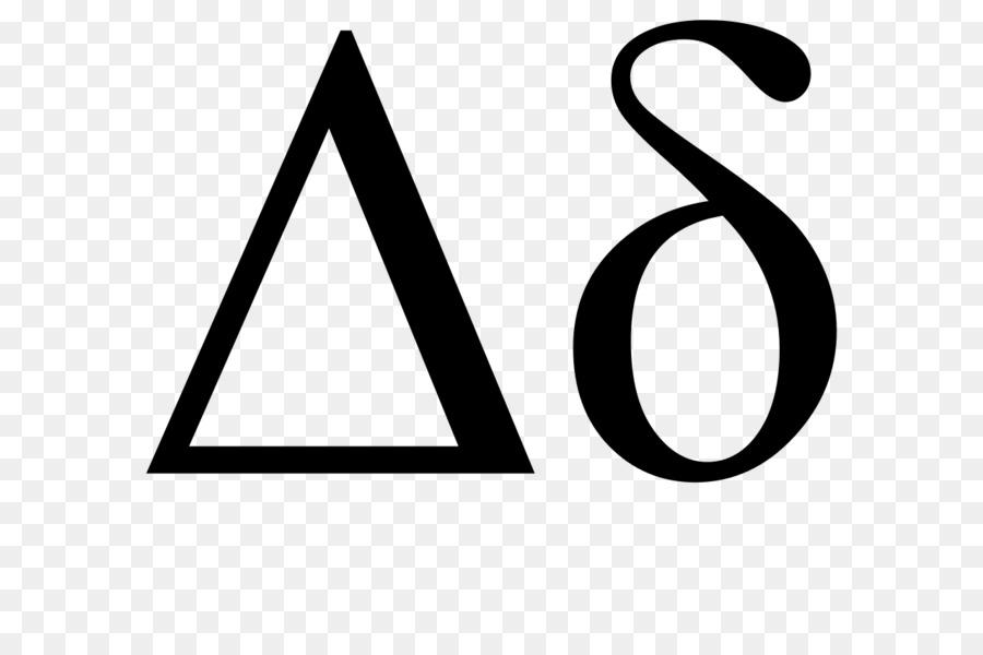 Delta Greek Alphabet Letter Symbol Delta Png Download 1280853