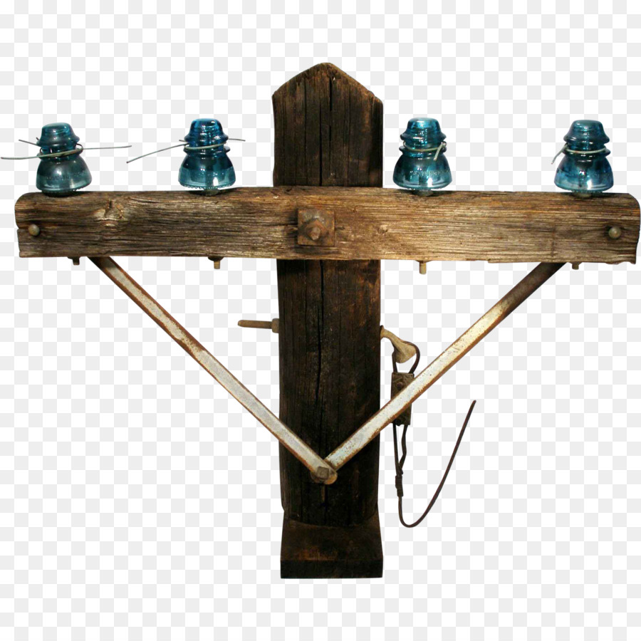 Insulator Electricity Wire Electrical telegraph Ground - glass table ...