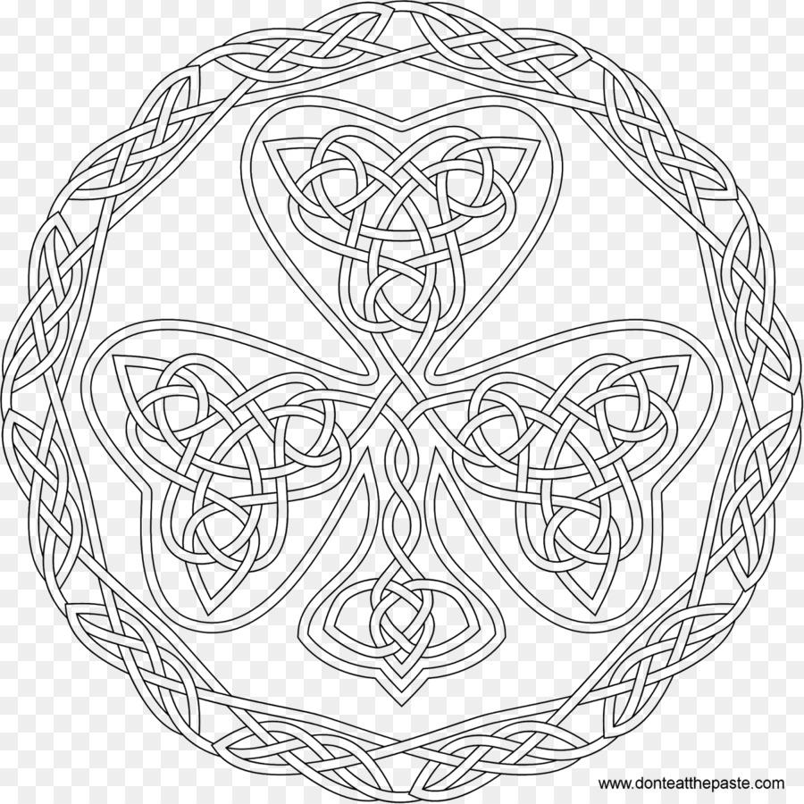 Libro para colorear de nudo Celta Celta de arte Adulto Celtas - de ...
