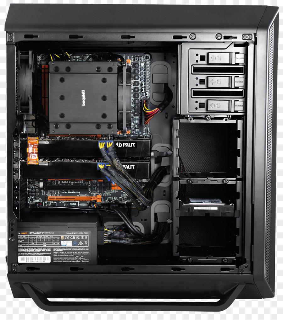 Kasus Komputer Perumahan Power Supply Unit Menjadi Tenang Atx Kabel Converters Hitam Murni