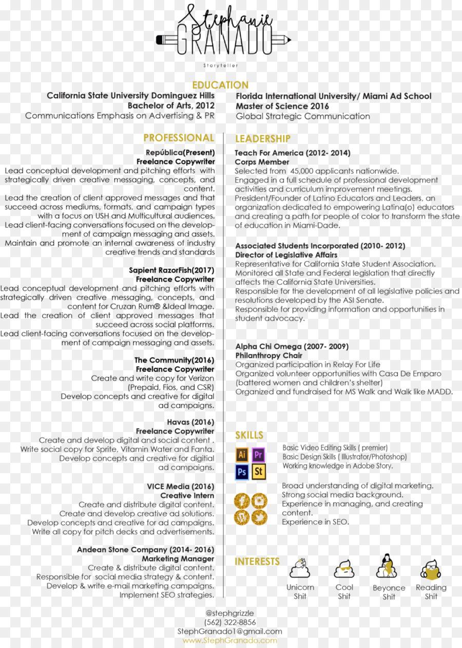 Documento De La Línea De - creative curriculum vitae Formatos De ...