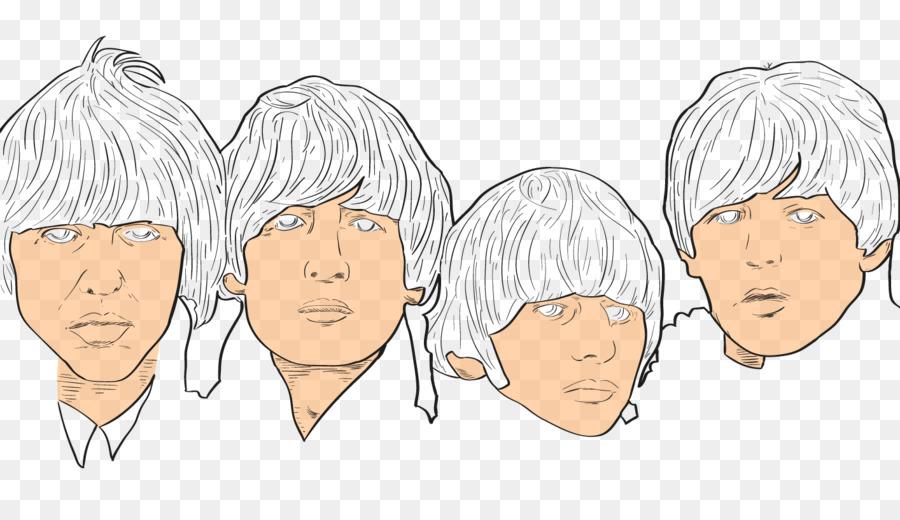 Los Beatles Dibujo Noche de Un Día Duro de Croquis - color el arte ...