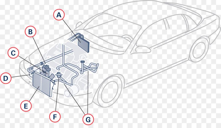 Car Internal Combustion Engine Cooling Diagram System Cooling Png