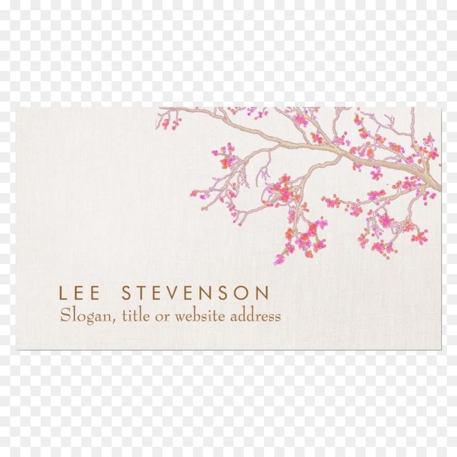 Paper Interior Design Services Business Cards Printing Floral