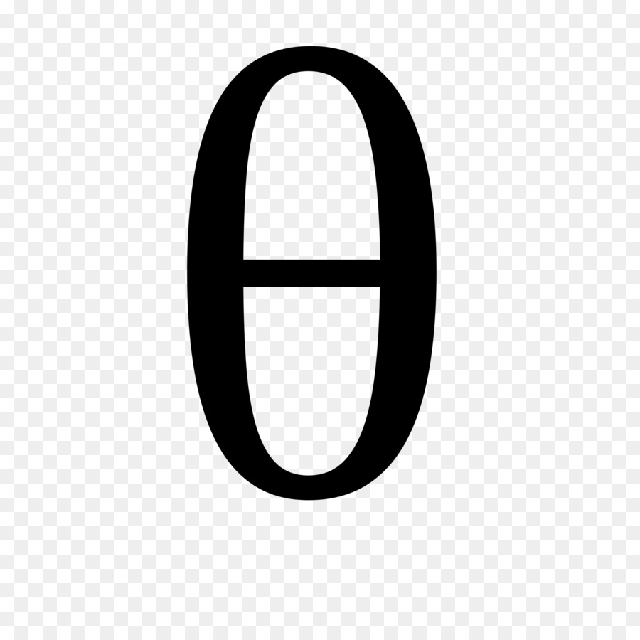 Theta Greek Alphabet Symbol Number Gamma Free Stock Triangle Png