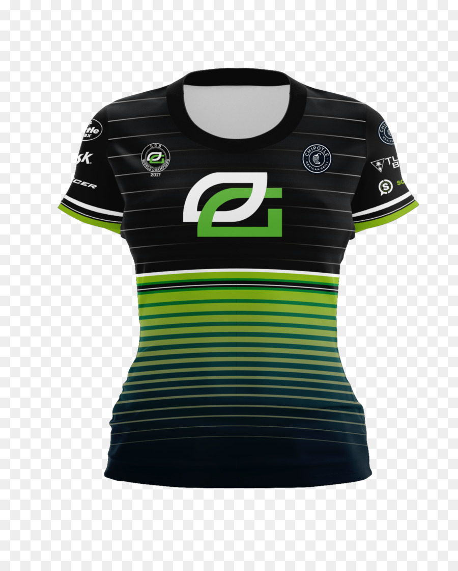 66936ea7ec4c Jersey T-shirt Hoodie Call of Duty Championship OpTic Gaming - optic png  download - 1200 1481 - Free Transparent Jersey png Download.