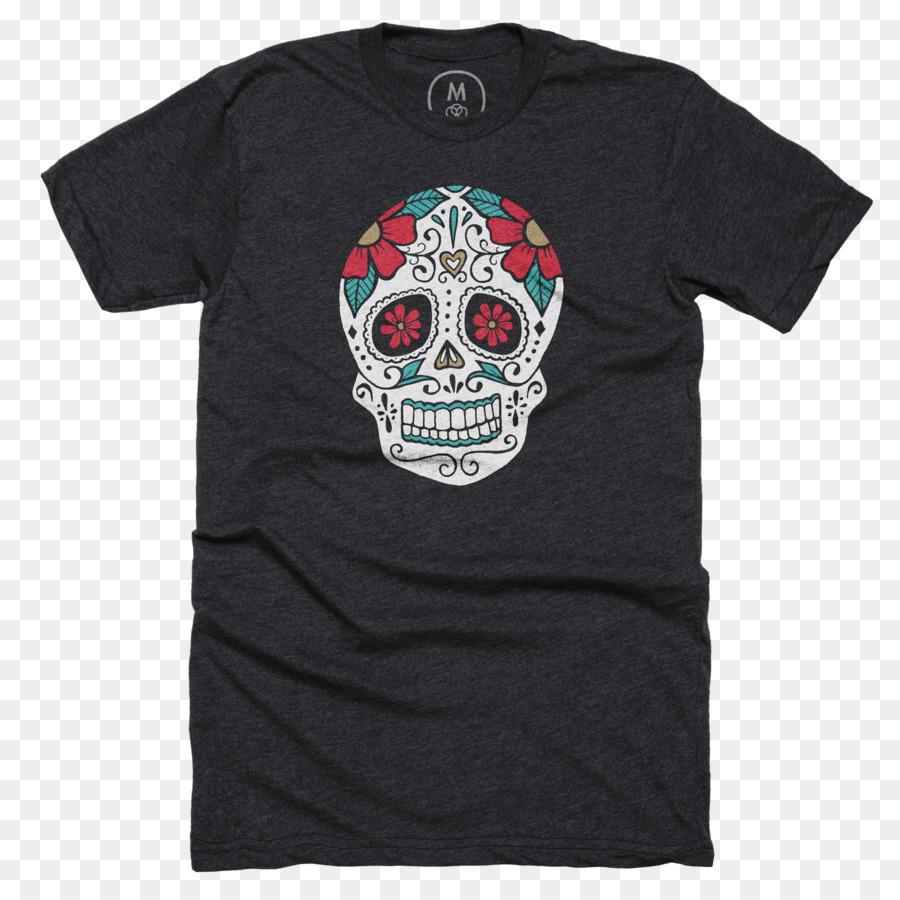 t shirt hoodie sleeve clothing sugar skulls png download 2400
