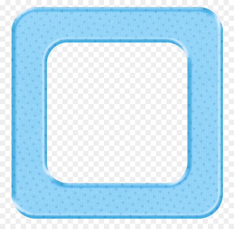 Label Picture Frames Baby Shower Clip Art Blue Frame Png Download