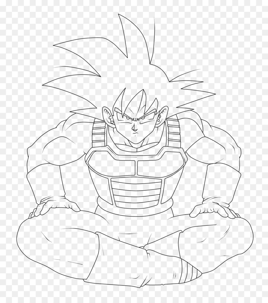 Goku Vegeta Gohan Super Saiya Saiyan - embossed color pages png ...