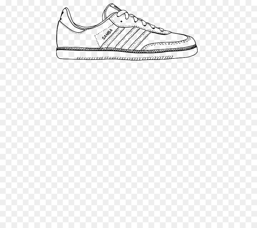 Zapatillas De Deporte De Dibujo De Zapatos - samba vector Formatos ...
