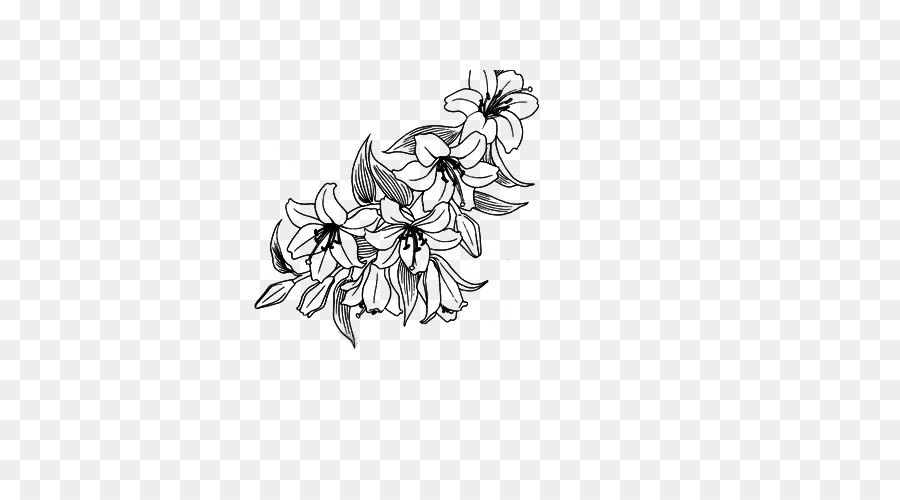 Floral Design Deviantart Flower Lotus Border Png Download 500