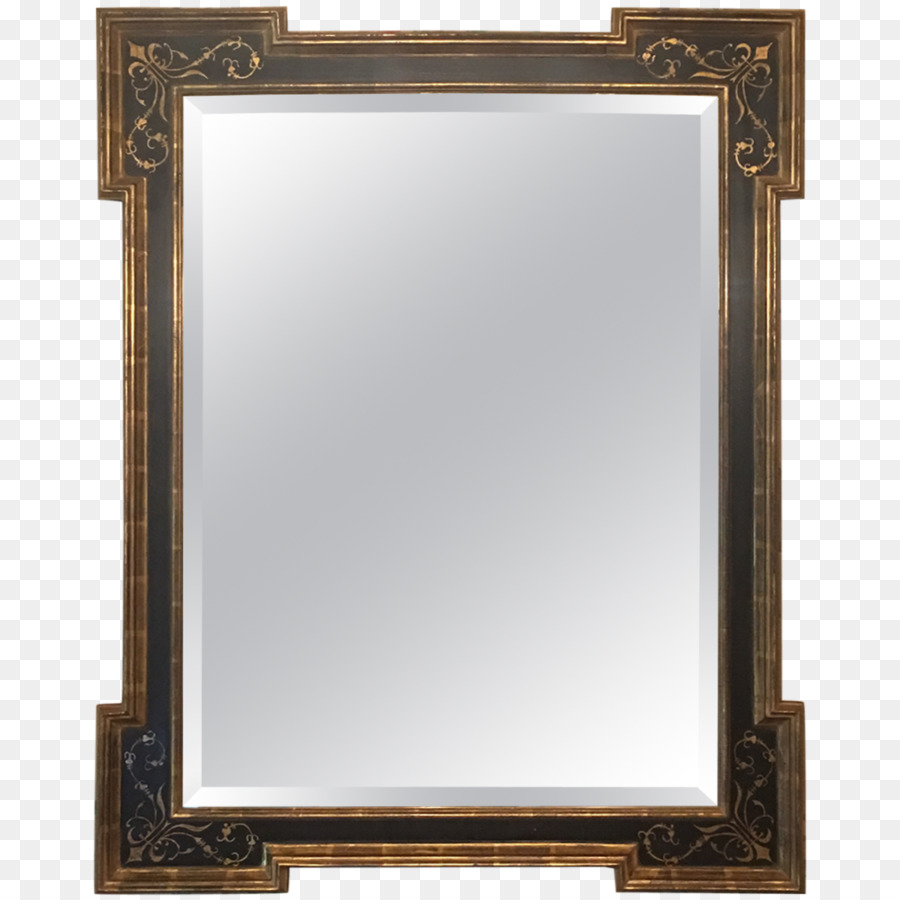 Spiegel Schlafzimmer Glas Badezimmer Schrank Optik Schwarze Rahmen