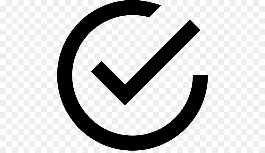 Check Mark Computer Icons Tick Inside Vector Png Download 512