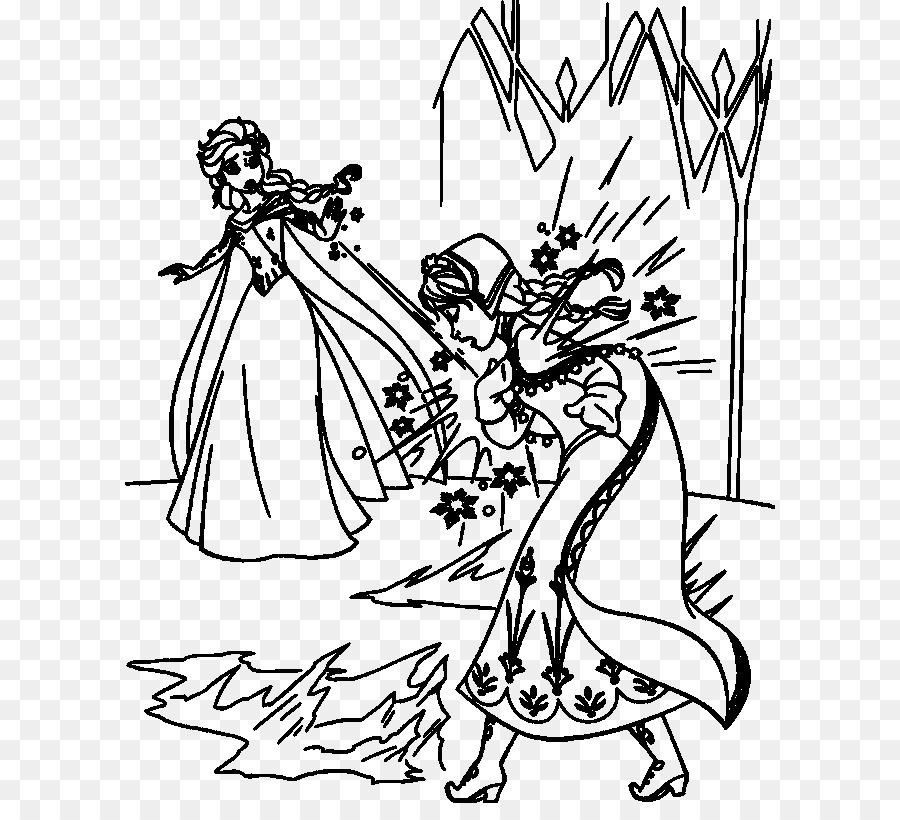 Anna, Elsa, Kristoff libro para Colorear de Olaf - anna png dibujo ...