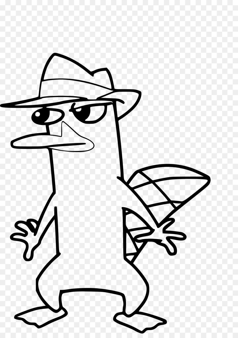 Perry el Ornitorrinco libro para Colorear el Dr. Heinz Doofenshmirtz ...