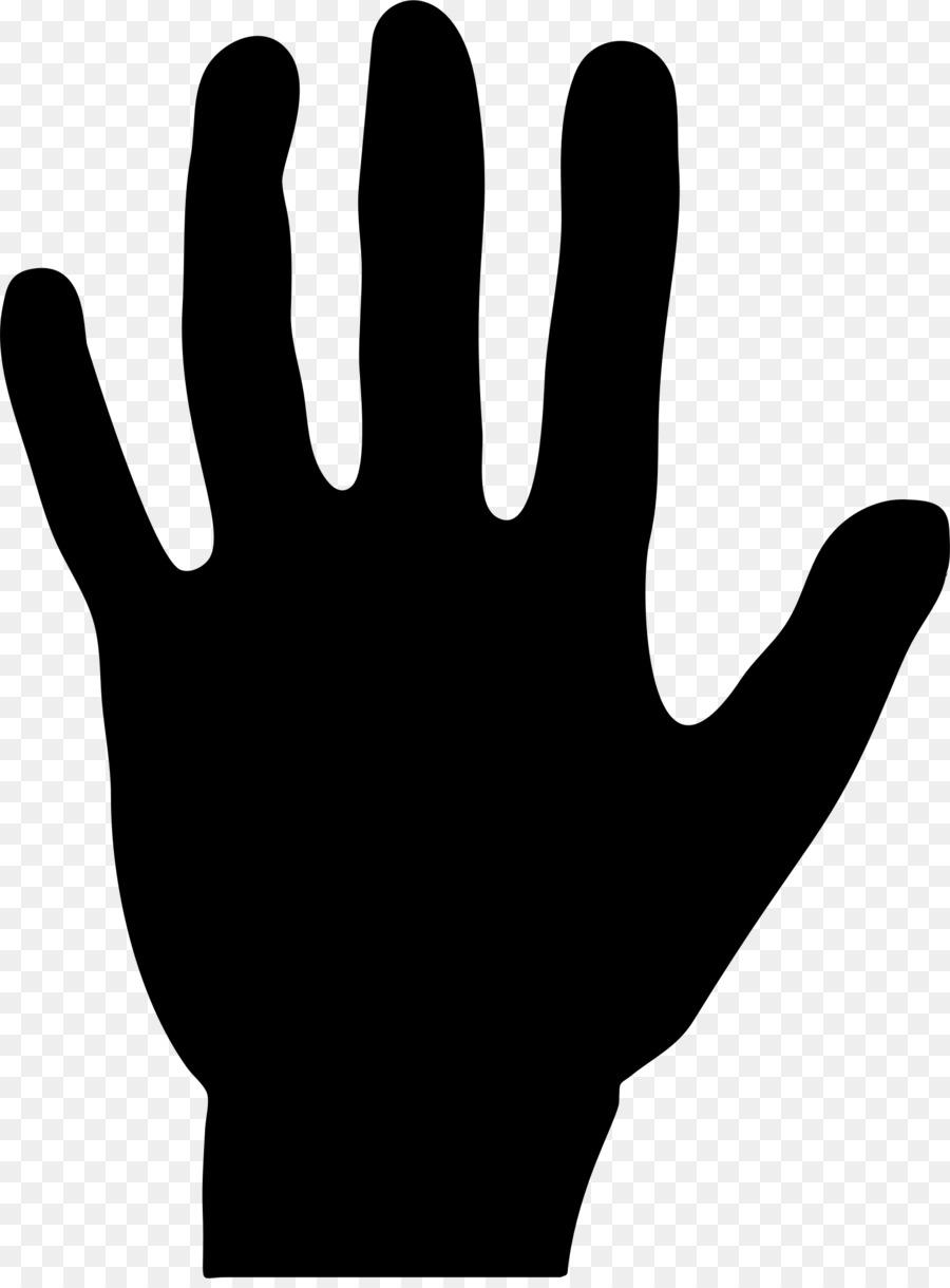 silhouette clip art handprint color png download 1618 2178 rh kisspng com free handprint tree clipart Baby Handprint Clip Art