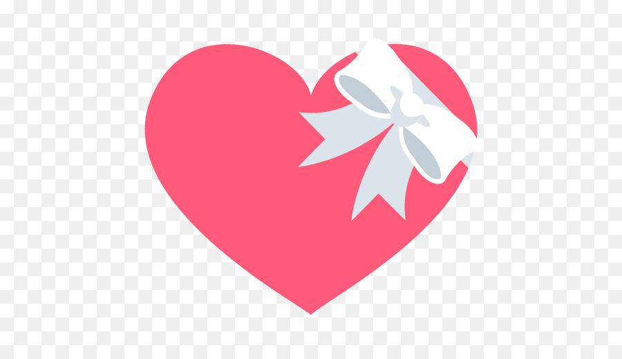 Emoji Sticker Meaning Symbol Heart Heart Shaped Ribbon Png